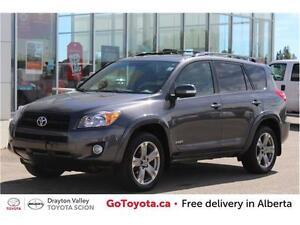 2010 Toyota Rav4 SPORT 4X4 - ONE OWNER - ACCIDENT FREE