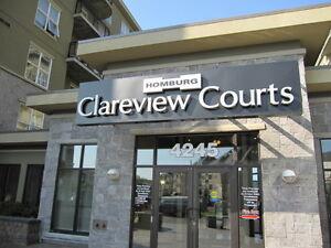 CLAREVIEW COURT:  2 BEDROOM CONDO FOR RENT (Northeast Edmonton)