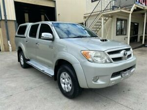 2007 Toyota Hilux KUN26R MY07 SR5 Silver 4 Speed Automatic Utility Greystanes Parramatta Area Preview
