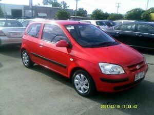 2005 Hyundai Getz TB GL Red 4 Speed Automatic Hatchback Coopers Plains Brisbane South West Preview