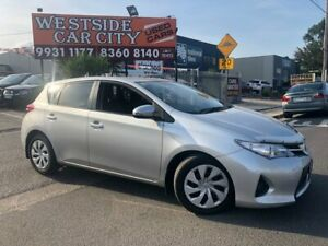 2013 Toyota Corolla ZRE182R Ascent Silver 7 Speed CVT Auto Sequential Hatchback Hoppers Crossing Wyndham Area Preview