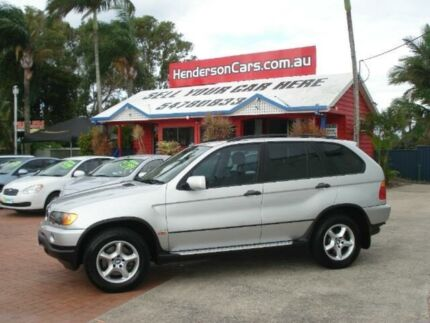 2002 BMW X5 E53 Steptronic Silver 5 Speed Sports Automatic Wagon