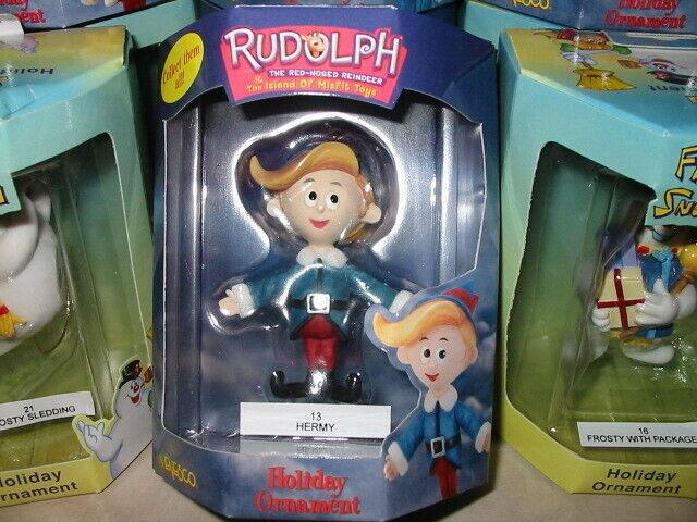 HERMEY Elf Hermy Christmas Dentist Ornament Enesco Rudolph Island of Misfit Toys