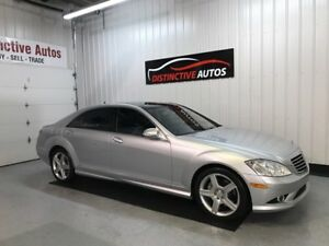 2007 Mercedes-Benz S550 4MATIC LWB/NAVI/NIGHT VISION/AMG PACK V8