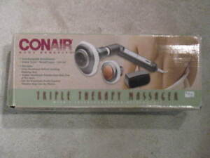 Conair triple therapy massager - like new condition.