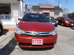 2011 Ford Focus SE Auto Sedan No Accident Red Only 113,000km