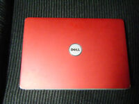 LapTop DELL Inspiron 1525 ( Show room condition ) Matt Red Top Cover