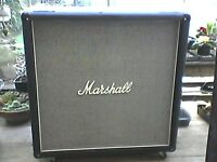 Marshall 1960 cab McKenzie Pulsonic loaded