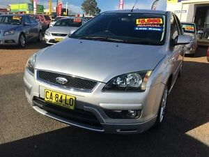 2005 Ford Focus LR Zetec Silver 5 Speed Manual Hatchback St Marys Penrith Area Preview