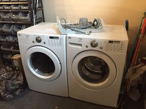 LG Heavy Duty Washer and Dryer
