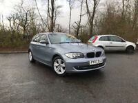 2007 BMW 118 TURBO DIESEL SE BLUE MOT ONE YEAR GREAT CAR MUST SEE £3495 OLDMELDRUM
