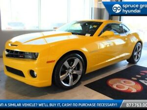 2012 Chevrolet Camaro 1SS MANUAL WITH POWER SEAT ON STAR AND SUN