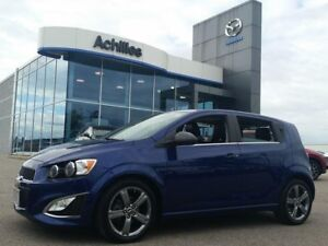 2014 Chevrolet Sonic RS, Leather, Moonroof, Alloys,