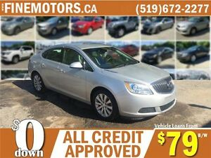 2012 BUICK VERANA * LEATHER * HEATED SEATS * CAR LOANS FOR ALL London Ontario image 1