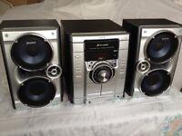 Sony MHC-RG270 Stereo System - CD/MP3/Cassette/Radio