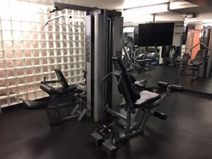 Precor S3.45i 4-Station Multi Gym with Leg Press!