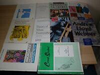 SHEET MUSIC BOOKS - TRUMPET