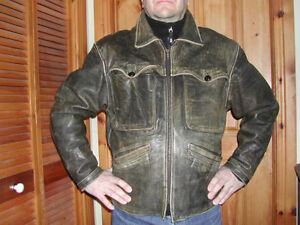 Veste en cuir Indian Motorcycle - AUBAINE!