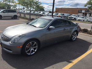2004 Infiniti G35 Sport Coupe with Track Pack! Coupe (2 door)