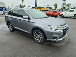 2016 Mitsubishi Outlander ZK MY16 LS 2WD Grey 6 Speed Wagon Bungalow Cairns City Preview