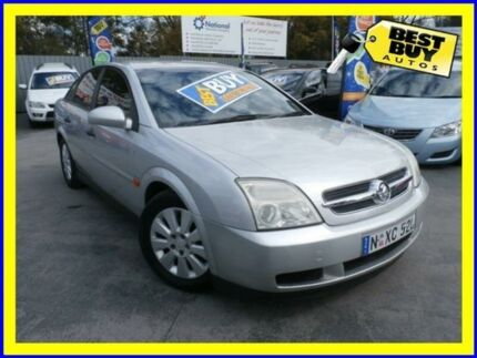 2003 Holden Vectra ZC CD Silver 5 Speed Automatic Hatchback Campbelltown Campbelltown Area Preview