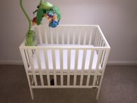 Mama's and Papa's White Wooden Cot
