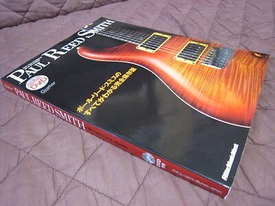 Paul Reed Smith Japan Book with DVD Santana Red Hot Chili Peppers PRS Guitar
