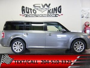 2010 Ford Flex LIMITED / All Wheel Drive / Leather / Roof