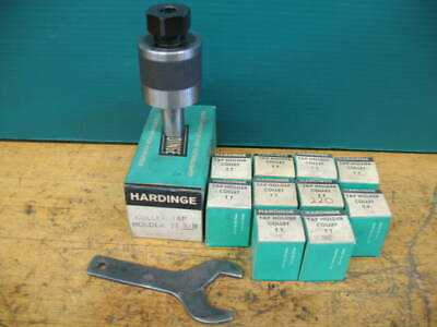 Hardinge 58 Tt Tapping Chuck 10 Tt Tap Collets .141 -.381 Superb Dv-59 Dsm