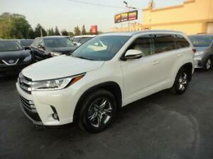 Toyota Highlander 2017 Limited AWD Cuir Toit Pano 7Pass a vendre