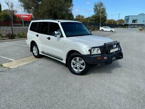 2006 Mitsubishi Pajero NP MY06 VR-X White 5 Speed Sports Automatic Wagon Mile End South West Torrens Area Preview