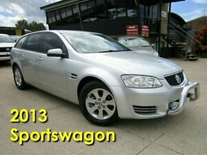 2013 Holden Commodore VE II MY12.5 Omega Sportwagon Silver 6 Speed Sports Automatic Wagon Noosaville Noosa Area Preview