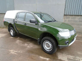 Mitsubishi L200 2.5 DiD double cab long bed pick up 2011 11 reg