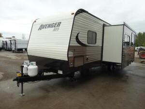 27 foot travel trailer with bunks