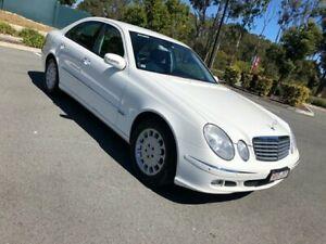 2006 Mercedes-Benz E350 Elegance White 7 Speed Automatic Sedan Arundel Gold Coast City Preview