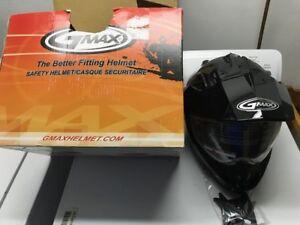 2 New Gmax ATV Helmets and 1 used