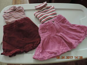 Girl's 18-24months Skirts & Tops