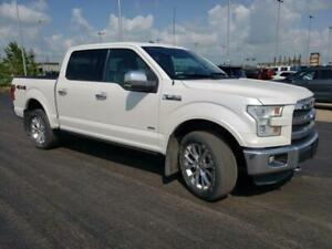 2015 Ford F-150 Lariat 502A CHROME PKG, 3.5L ECO BOOST, MOONROOF