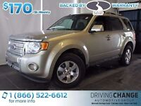 2011 Ford Escape Limited-Moon Roof-Backup Sensors
