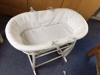 Beautiful Moses Basket for sale