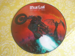 Picture Disc Vinyl LP MEAT LOAF Bat Out Of Hell - 1978 N/Mint