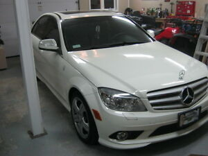 2008 benz 300 4 matic never used in winter 68000km mint