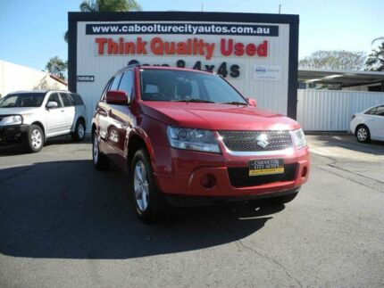 2008 Suzuki Grand Vitara JB Type 2 Red 5 Speed Manual Wagon Caboolture South Caboolture Area Preview