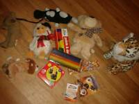Selection of new toys-job lot
