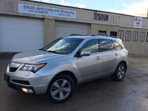 2011 Acura MDX TECH PKG-NAVI-SUNROOF-LEATHER-LOADED