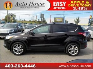 2013 Ford Escape SEL AWD LEATHER PANORAMIC ROOF NAVIGATION