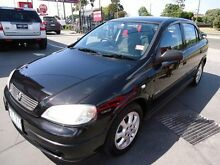 2005 Holden Astra TS MY05 Classic Equipe Black 5 Speed Manual Hatchback Mentone Kingston Area Preview