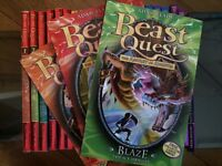 Beast Quest books (No's 1 - 24) by Adam Blade