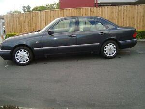 1996 Mercedes-Benz E320 W210 Elegance Black 5 Speed Automatic Sedan