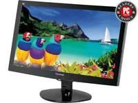 "ViewSonic VA2037a-LED 20"" Monitor - Widescreen LCD - 1600 x 900 - Tilt Screen."